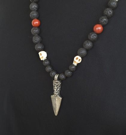 Gungnir Spydspiss med perler