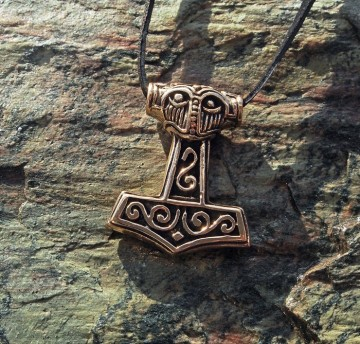 Viking Bronse Torshammer