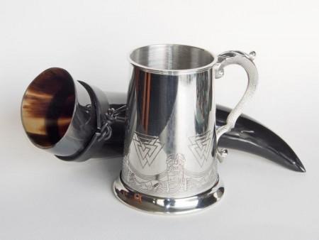 Viking Drikkehorn og Viking Krus,drikkebeger
