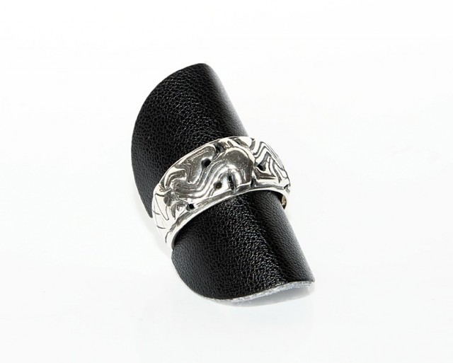 Viking ring av sølv 925 sterling